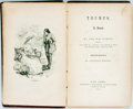 Books:Literature Pre-1900, George William Curtis. INSCRIBED. Trumps. New York: Harpers, 1861. First edition. With an autograph note signed by...