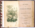 Books:Literature Pre-1900, Marcus Lafayette Byrn. The Rambles of Fudge Fumble. NewYork: Frederic A. Brady, 1860. First edition. With four plat...