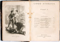 Books:Literature Pre-1900, (Various Authors). Good Stories. Boston: Ticknor and Fields,1867. First edition. Thick twelvemo. Half straight grai...