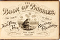 Books:Americana & American History, [Americana]. The Book of Bubbles. A Contribution to the New YorkFair in Aid of the Sanitary Commission. New York: E...