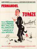 "Movie Posters:Foreign, Topaze (Gaumont, 1951). French Grande (46.5"" X 63""). Foreign.. ..."
