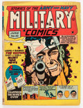 Golden Age (1938-1955):War, Military Comics #10 (Quality, 1942) Condition: GD/VG....