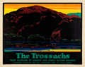 "Movie Posters:Miscellaneous, UK Travel Poster (LNER, 1927). Poster (40"" X 50"") ""The Trossachs,""Artist: Austin Cooper.. ..."
