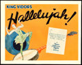 "Movie Posters:Drama, Hallelujah! (MGM, 1929). Title Lobby Card (11"" X 14"").. ..."