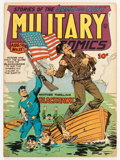 Golden Age (1938-1955):War, Military Comics #11 (Quality, 1942) Condition: VG/FN....