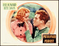 "Movie Posters:Crime, The Petrified Forest (Warner Brothers, 1936). Lobby Card (11"" X14"").. ..."