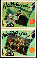 "Movie Posters:Drama, Hallelujah! (MGM, 1929). Lobby Cards (2) (11"" X 14"").. ... (Total:2 Items)"