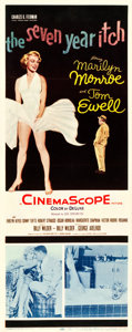 "Movie Posters:Comedy, The Seven Year Itch (20th Century Fox, 1955). Insert (14"" X 36"")....."