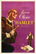 "Movie Posters:Drama, Hamlet (Universal International, 1949). One Sheet (27"" X 41"").. ..."