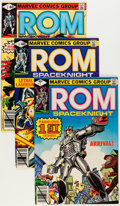 Modern Age (1980-Present):Superhero, Rom Group (Marvel, 1979-86) Condition: Average NM-.... (Total: 71Comic Books)