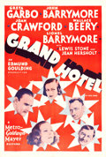 "Movie Posters:Academy Award Winners, Grand Hotel (MGM, R-1950s). International One Sheet (27.5"" X 41"").. ..."