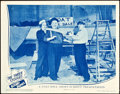 """Movie Posters:Comedy, The Three Stooges in Booby Dupes (Columbia, 1945). Lobby Card (11""""X 14"""").. ..."""