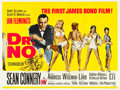 "Movie Posters:James Bond, Dr. No (United Artists, 1962). British Quad (30"" X 39.75"").. ..."