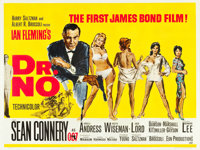 "Dr. No (United Artists, 1962). British Quad (30"" X 39.75"")"