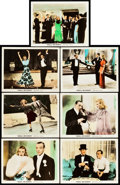 """Movie Posters:Musical, Shall We Dance (RKO, 1937). Deluxe Color Glos Lobby Cards (7) (11"""" X 14"""").. ... (Total: 7 Items)"""
