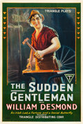 "Movie Posters:Drama, The Sudden Gentleman (Triangle, 1917). One Sheets (2) (27.5"" X 41"")Style A and Style B.. ... (Total: 2 Items)"
