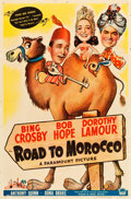 "Movie Posters:Comedy, Road to Morocco (Paramount, 1942). One Sheet (27"" X 41"").. ..."
