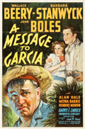 "Movie Posters:Drama, A Message to Garcia (20th Century Fox, 1936). One Sheet (27"" X 41"")Style A. Drama.. ..."