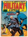 Golden Age (1938-1955):War, Military Comics #19 (Quality, 1943) Condition: VG....