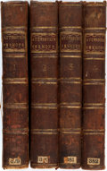 Books:Religion & Theology, Francis Atterbury. Sermons and Discourses on Several Subjects and Occasions. L. Davis, et al, 1766. Complete in four... (Total: 4 Items)
