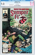 Modern Age (1980-Present):War, Semper Fi #1 (Marvel, 1988) CGC NM/MT 9.8 White pages....