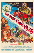 """Movie Posters:Science Fiction, Invaders from Mars (20th Century Fox, 1955). One Sheet (27"""" X41"""").. ..."""