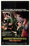 """Movie Posters:War, Where Eagles Dare (MGM, 1968). One Sheet (27"""" X 41"""") Style B.. ..."""