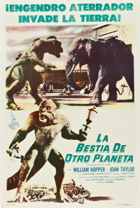 """20 Million Miles to Earth (Columbia, 1957). Argentinean Poster (29"""" X 43"""")"""