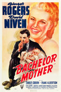 "Movie Posters:Comedy, Bachelor Mother (RKO, 1939). One Sheet (27"" X 41"").. ..."