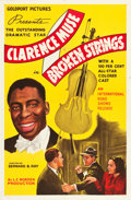 "Movie Posters:Drama, Broken Strings (International Road Shows, 1940). One Sheet (27"" X 41"").. ..."