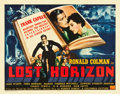 "Movie Posters:Fantasy, Lost Horizon (Columbia, 1937). Half Sheet (22"" X 28"").. ..."