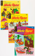 Bronze Age (1970-1979):Cartoon Character, Wacky Races #1-7 Group - Savannah pedigree (Gold Key, 1969-72)Condition: Average VF/NM.... (Total: 7 Comic Books)