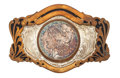 Estate Jewelry:Other , Dollar Coin, Silver, Copper Belt Buckle. ...