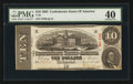 Confederate Notes:1863 Issues, T59 $10 1863 PF-28 Cr. UNL.. ...