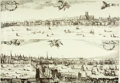 Books:Prints & Leaves, Large Group Lot of Prints Depicting Cityscapes. Various sizes. Verygood. . ...