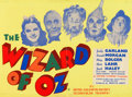 "Movie Posters:Fantasy, The Wizard of Oz (MGM, R-1949). British Quad (30"" X 40"").. ..."