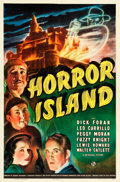"Movie Posters:Horror, Horror Island (Universal, 1941). One Sheet (27"" X 41"") and LobbyCard Set of 8 (11"" X 14"").. ... (Total: 9 Items)"