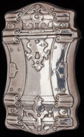 Silver Smalls:Match Safes, AN AMERICAN SILVER AND SILVER GILT MATCH SAFE, circa 1900. Marks:STERLING 250. 2-5/8 inches high (6.7 cm). 0.91 troy ou...