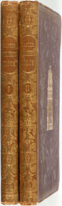 Books:Literature Pre-1900, Charles Dickens. Master Humphreys Clock. London: Chapman andHall, 1840-1841. First edition. Two large octavo volume... (Total:2 Items)
