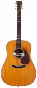 Musical Instruments:Acoustic Guitars, 1953 Martin D-28 Natural Acoustic Guitar, #129794....