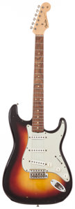 Musical Instruments:Electric Guitars, 1964 Fender Stratocaster Sunburst Solid Body Electric Guitar,#L26467....