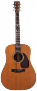 Musical Instruments:Acoustic Guitars, 1955 Martin D-28 Natural Acoustic Guitar, #142182....