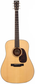 Musical Instruments:Acoustic Guitars, 2001 Collings D1A Natural Acoustic Guitar, #7000....