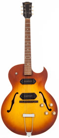 Musical Instruments:Electric Guitars, 1966 Gibson ES-125CD Sunburst Archtop Electric Guitar, #432266....