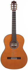 Musical Instruments:Acoustic Guitars, 2000 Cordoba C9 CD/MH Natural Acoustic Guitar, #14159....