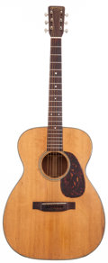 Musical Instruments:Acoustic Guitars, 1962 Martin 00-18 Natural Acoustic Guitar, Serial # 187281....
