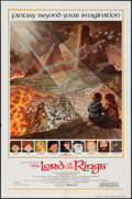 "Movie Posters:Animation, The Lord of the Rings (United Artists, 1978). International One Sheet (27"" X 41""). Animation.. ..."