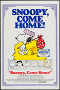 "Movie Posters:Animation, Snoopy, Come Home! (National General, 1972). One Sheet (27"" X 41"").Animation.. ..."