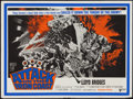 "Movie Posters:War, Attack on the Iron Coast (United Artists, 1968). British Quad (30""X 40""). War.. ..."