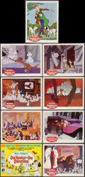 """Movie Posters:Animation, 101 Dalmatians (Buena Vista, 1961). Lobby Card Set of 9 (11"""" X 14""""). Animation.. ... (Total: 9 Items)"""